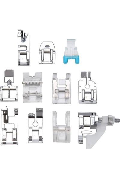 İşkur Makina 11 Parça Ev Tipi Aile Dikiş Makinesi Ayak Seti