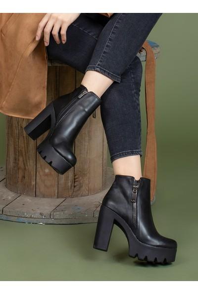 Aker Ayakkabı Bot - Siyah