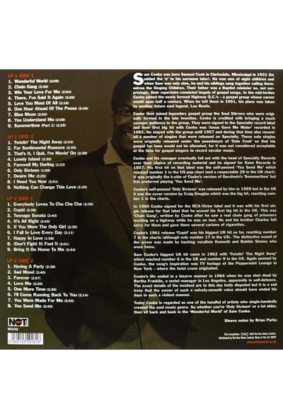 Sam Cooke - The Singles Collection (2 Kırmızı Lp) - (Yabancı Plak)
