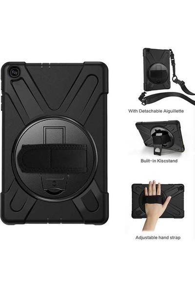 Zaks Apple iPad 1/2/3 Zırhlı Tablet Silikon 360 Derece Tam Korumalı Kılıf