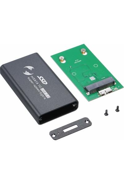 "Datapower TCH-MST806-S 1.8"" Msata SSD USB 3.0 HDD Kutusu Siyah"