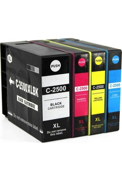 Bk Canon Maxıfy PGI-2500 Xl İB4050/MB5050 MB5150 MB5350 Kartuş Seti