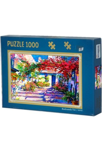 İstanbul Puzzle Bodrumda Yaz 1000'lik Puzzle