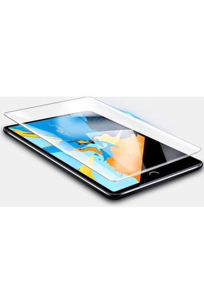 "Redpoloshop Apple iPad 6.Nesil Kılıf 2018 9.7"" Nano Ekran Koruyucu Silikon Kılıf Seti A1893 A1954 Pembe"