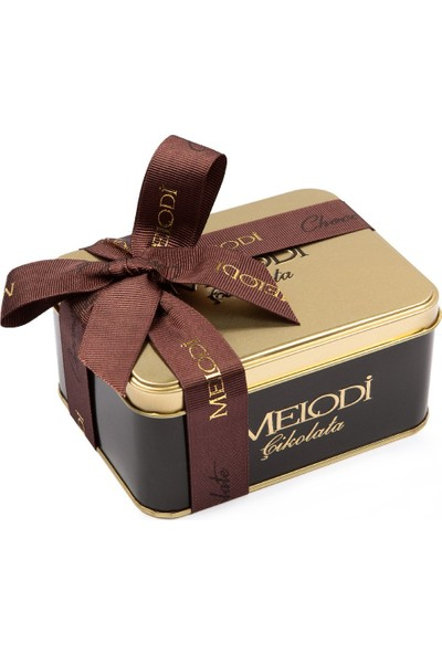Melodi Çikolata Metal Kutu Çikolata Draje