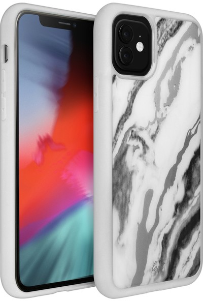 Laut Apple iPhone 11 Mineral Gls Kılıf - Beyaz