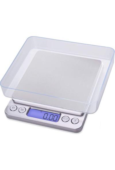Knmaster mt Serisi 500G / 0,01G Hassas Dijital Mutfak Tartısı