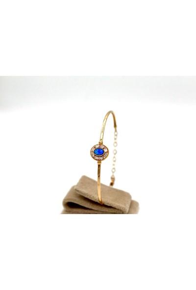 Tekin Gold Opal Tel Bilezik