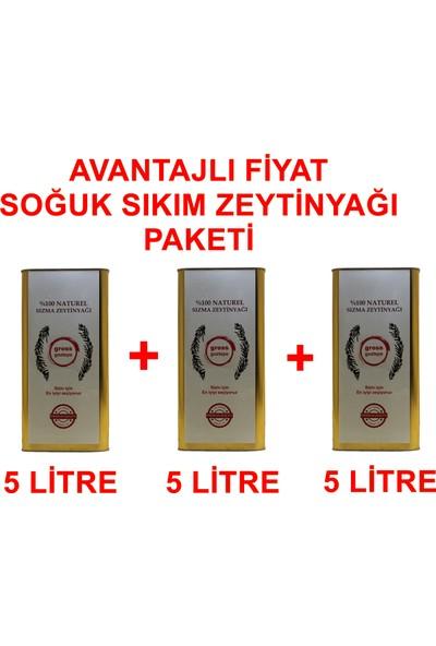 Gross Goztepe Erken Hasat Soğuk Sıkım Zeytinyağı 3 x 5 lt