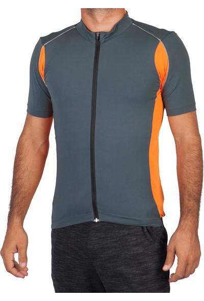 Exuma 141204 Erkek Antrasit Bisiklet Forması
