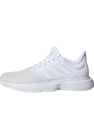 Adidas Ee3813 Gamecourt Kadın Beyaz Tenis Ayakkabısı