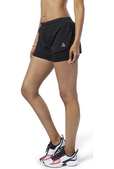 Reebok Ec3552 Kadın Siyah Spor Koşu Şort