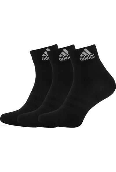 adidas Dz9379 Siyah Yastıklamalı 3'lü Çocuk Çorap