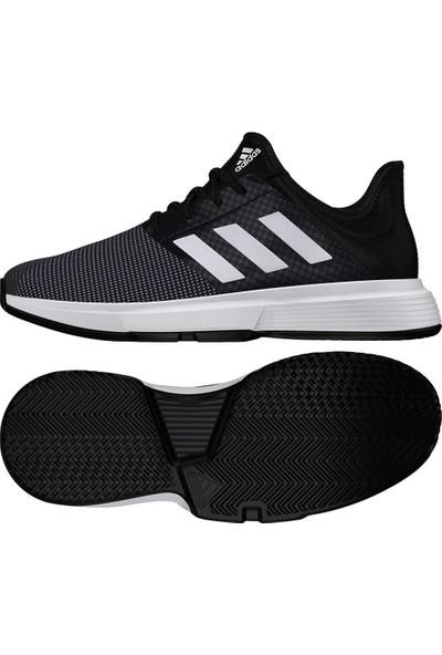 Adidas Eg2017 Gamecourt Kadın Siyah Tenis Ayakkabısı