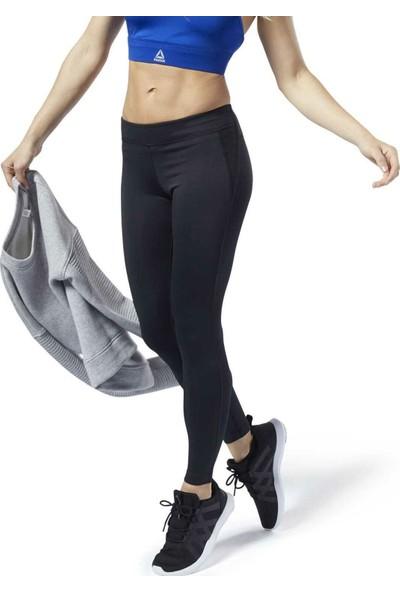 Reebok Ec2351 Kadın Siyah Uzun Spor Tayt