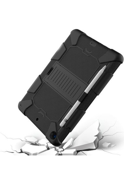 "Coverzone Coverzone iPad 10.2"" 7.Nesil Kılıf Standlı Darbe Koruyucu Siyah"