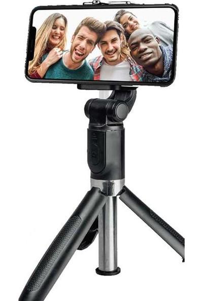 Piranha Piranha Bluetooth Kablosuz Tripod Selfie Çubuğu Kumandalı