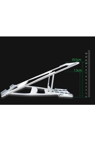Coverzone Ayarlanabilir 5 Kademeli Laptop Stand Alüminyum Malzeme Wiwu