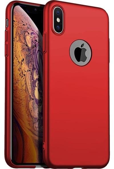 Ygt Apple iPhone X Premier Silikon Kırmızı