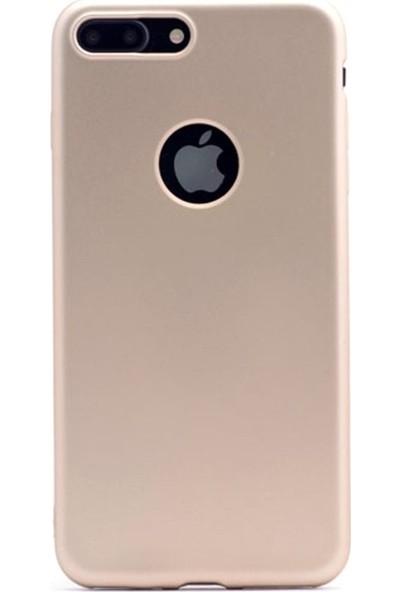 Ygt Apple iPhone 7/8 Plus Premier Silikon Gold