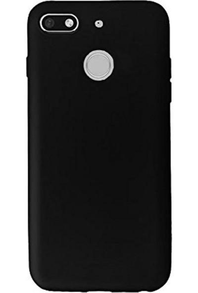 Ygt General Mobile Gm8 Go Kılıf Tam Renk Esnek Silikon Kapak Siyah Premium