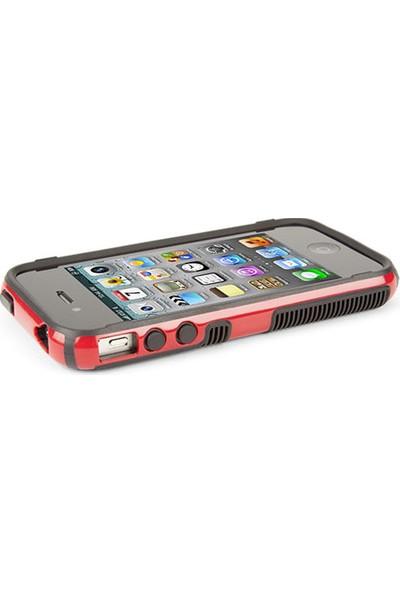 Speck CandyShell Grip iPhone 4S/4 Sert Kılıf Kırmızı - SPK-A1229