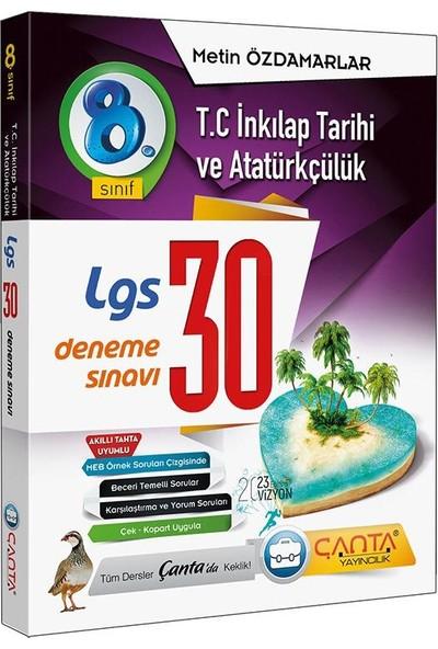 Çanta Yayınları 8.Sınıf Lgs Tc Inkılap Tarihi ve Atatürkçülük 30 Deneme Sınavı