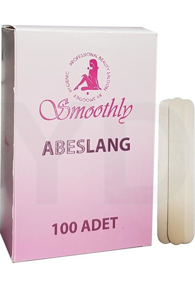 Smoothly Abeslang Spatula 100 Adet