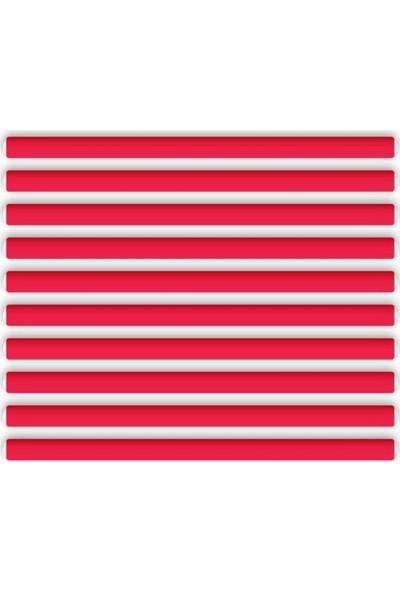 Asu Ocean 445 Sosis Bigudi Kırmızı 10 Adet