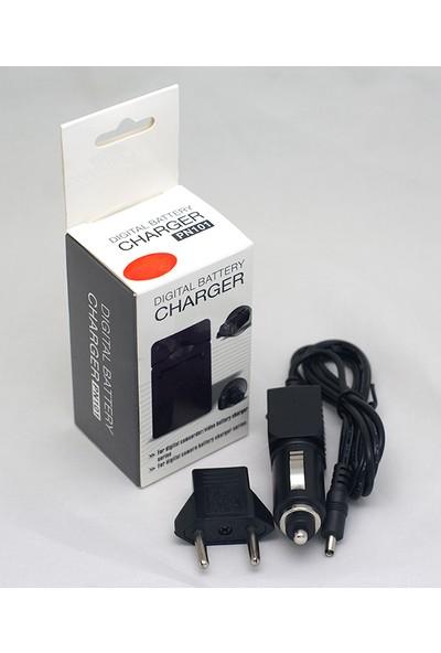 DBK Panasonic CGA-S008, DMW-BCE10, Ricoh Db-70 Için Şarj Cihazı