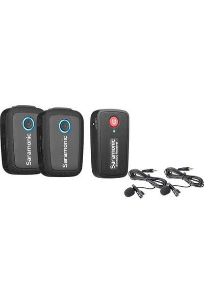 Saramonic Blink 500 B2 2 Kişilik Kablosuz Yaka Mikrofonu Sistemi