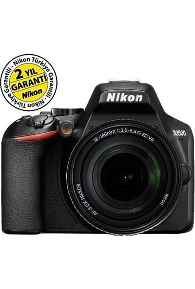 Nikon D3500 18-140 mm Vr Dslr Nikon Türkiye Garantili