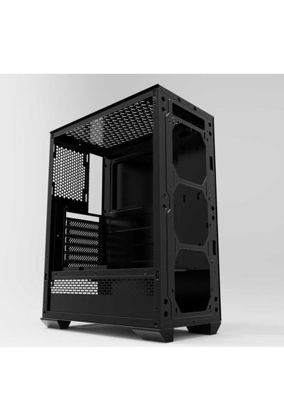GameTech Colder Mesh Panel 4x120 mm Fanlı Oyuncu Bilgisayar Kasası (PSU Yok)