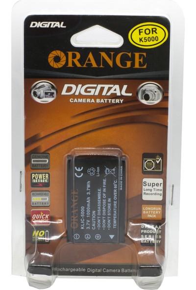Orange Klic 5000 Batarya NP-30,DB-40,LI-20B,FUJIFILM Np-60 Uyumlu Pil