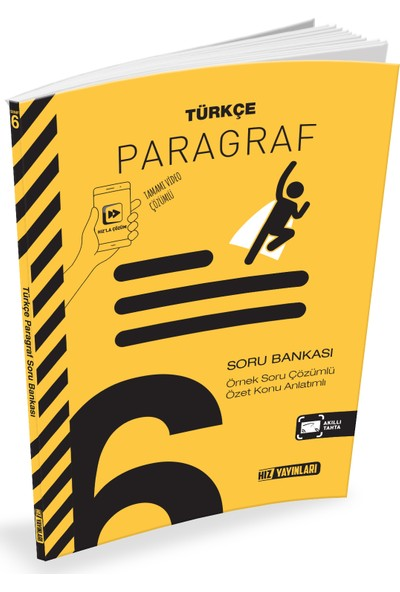 Türkçe Paragraf Soru Bankası 6. Sınıf