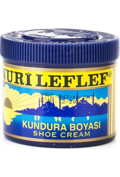 Nuri Leflef Koyu Kahverengi Klasik Ayakkabı Boyası 200 ml