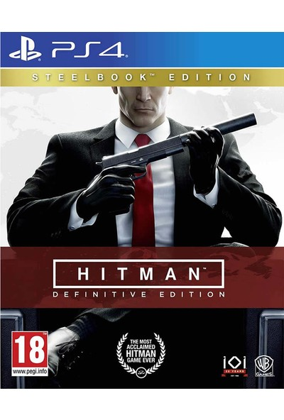 Hitman Definitive Edition Steelbook Ps4 Oyun