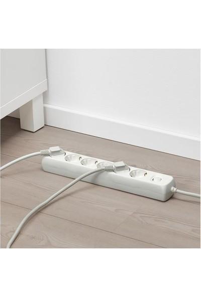 Koppla Uzatma Kablosu 6'lı Beyaz