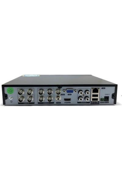 Avenir AV-TC08M 8 Kanal H265 AHD DVR Kayıt Cihazı