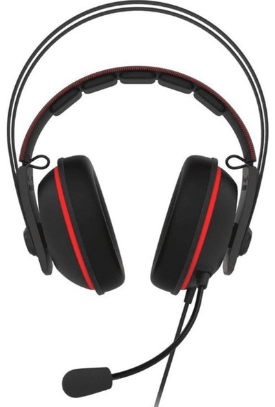 Asus TUF Gaming H7 Red 7.1 Oyuncu Kulaklık