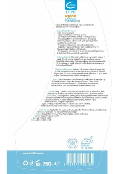 The Lifeco Home Organik Çamaşır Yumuşatıcı 750 ml