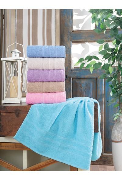 Cotton Touch Tira 6'lı El Yüz Havlu Seti 50 x 90 cm
