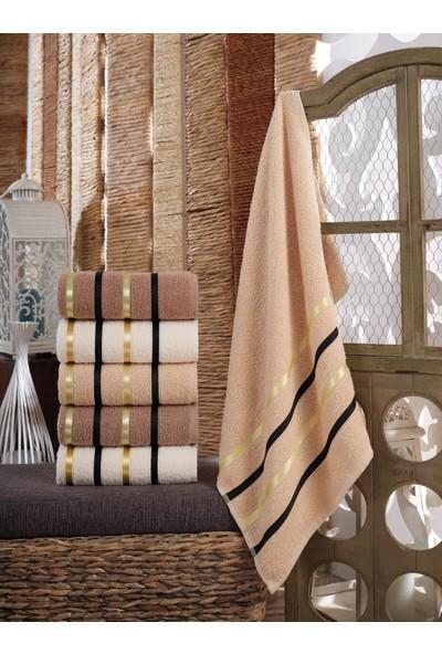Cotton Touch Raema 6'lı El Yüz Havlu Seti 50 x 90 cm