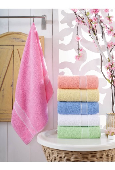 Cotton Touch Linn 6'lı El Yüz Havlu Seti 50 x 90 cm