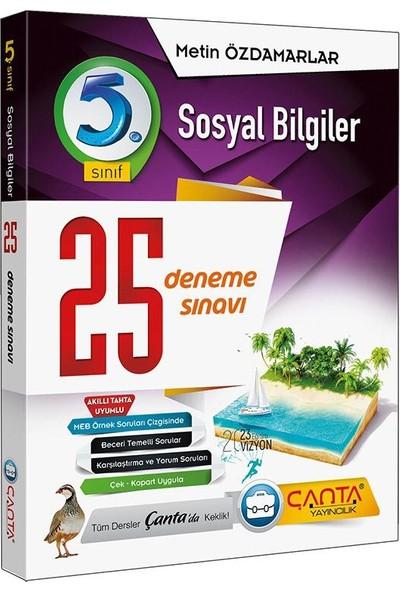 Çanta Yayınları 5. Sınıf Sosyal Bilgiler 25.deneme