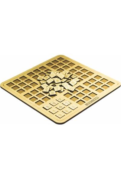 Adzen Oyuncak Ahşap 3D Sudoku