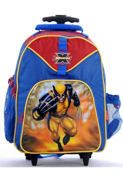 Dönmezler lisans X-Men Lisanslı 2 Tekerlekli Okul Çantası
