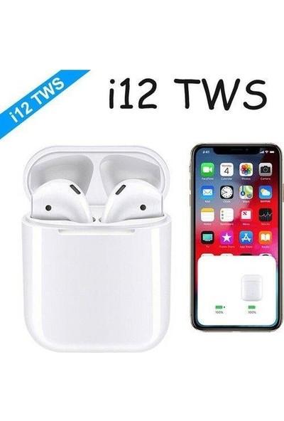 Tws I12 Bluetooth 5.0 Şarj Üniteli Kulaklık