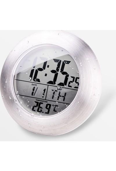 Emate Büyük Boy Ekran Duvar Saati ve Termometre THR328