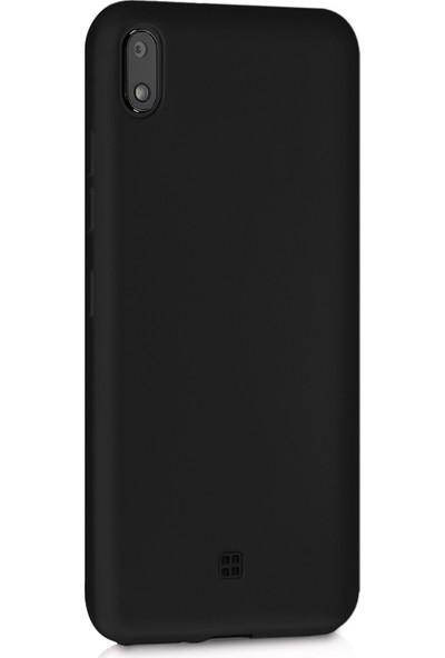 Microsonic Matte Silicone LG K20 2019 Kılıf Siyah